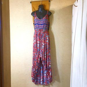 Hi-Lo Spaghetti Strap Mila Dress NWT